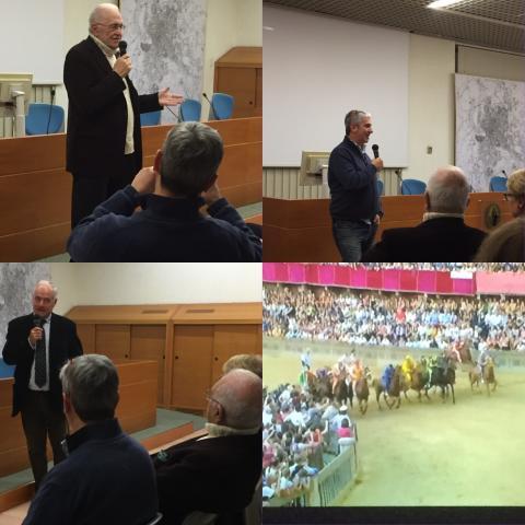 """""""Il fuoco di Siena"""" di Emilio Ravel per la regia di Riccardo Domenichini"""