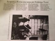 Targa per Federigo Tozzi